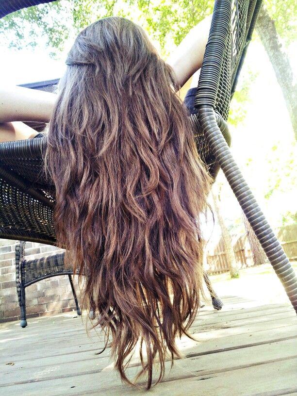 直筒/波浪形长发,有层数