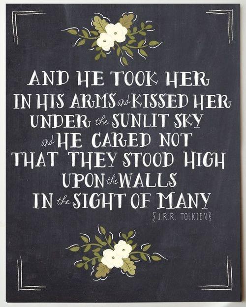 JRR Tolkien引述