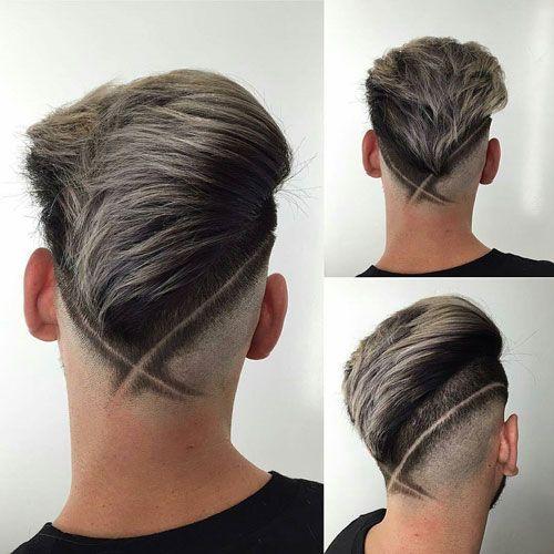 V淡化理发与头发设计