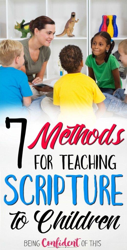 如果圣经记忆对成年人来说很难,那对孩子来说就更难了!尝试这7种创造性的方法来教孩子们的经文。