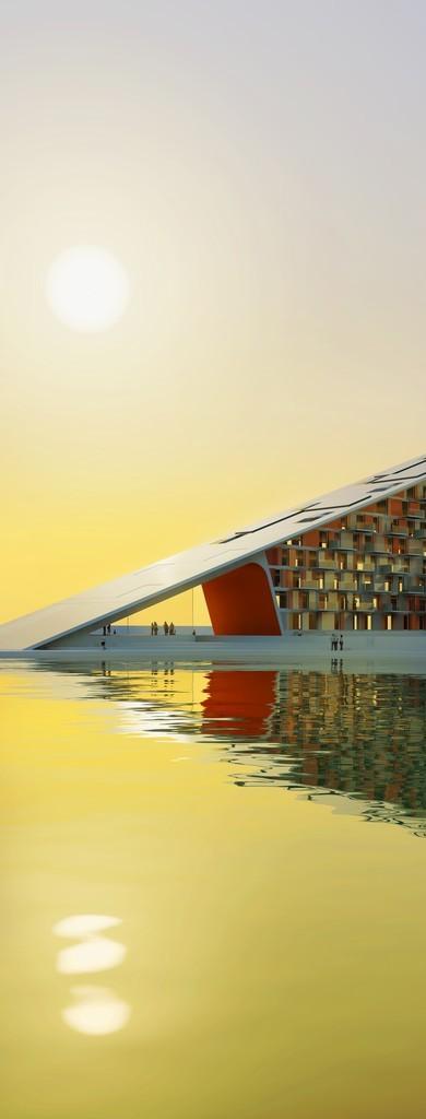 住房+,奥尔堡海滨的60个零能耗住房。 **