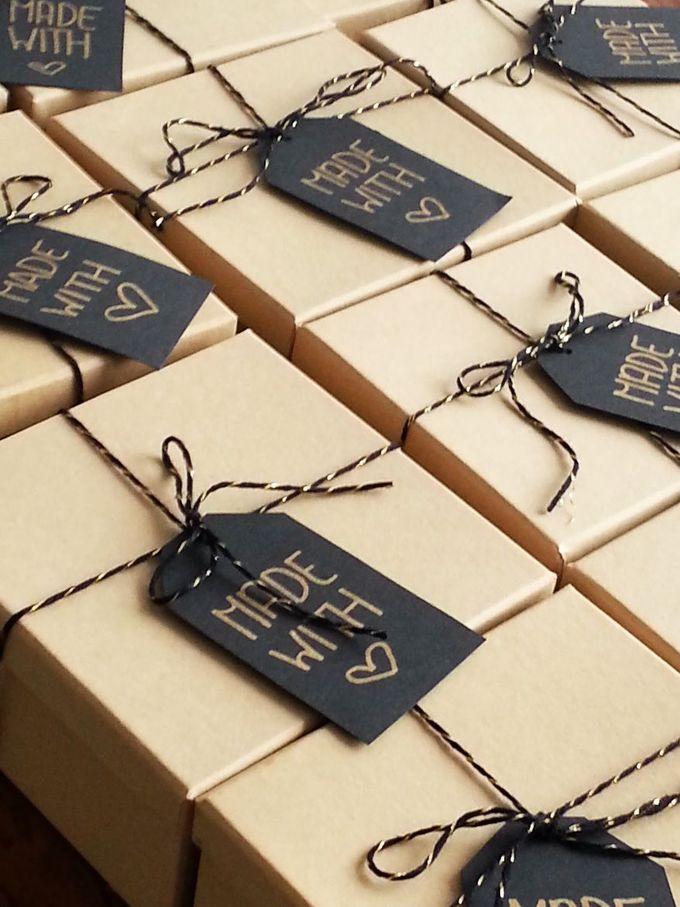 Lesli Ink holiday cookies packaging!
