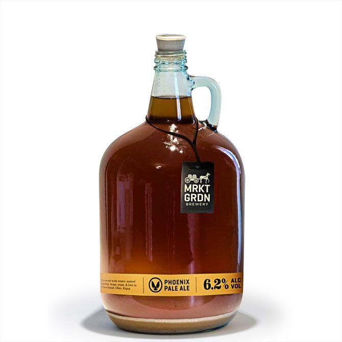 Market Garden Brewery Growler