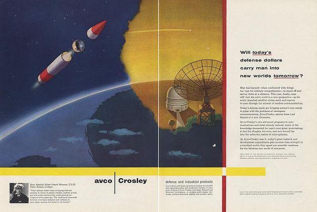 Avco Crosley Ad.  Ad Agency: Benton & Bowles