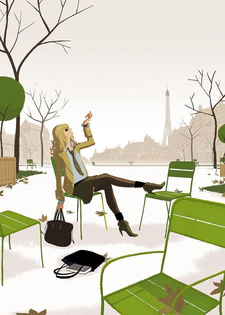 Matthieu Forichon / Jardin des Tuileries Paris