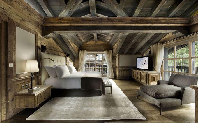豪华滑雪木屋,瑞士山中的牧人小屋,Courchevel 1850,法国,法国