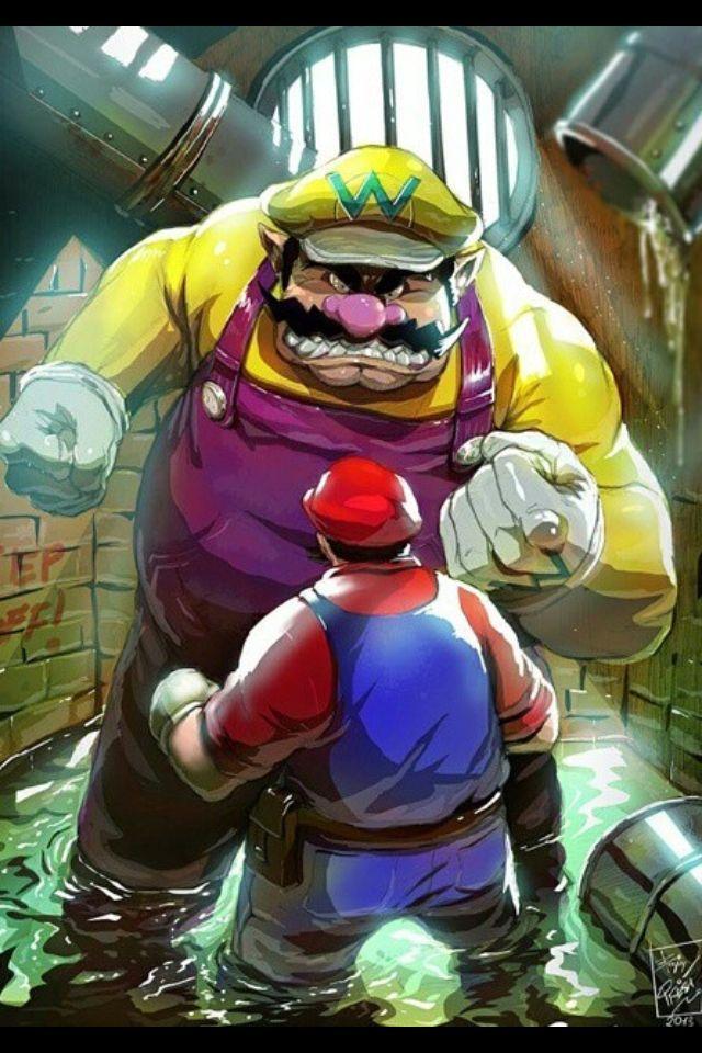 Mario vs Wario