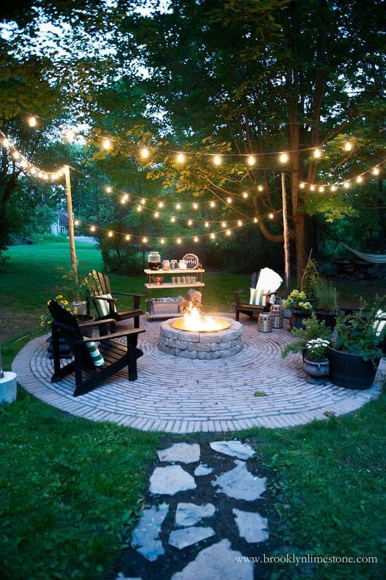 为您的后院提供18个火坑理念 - 最佳的DIY理念