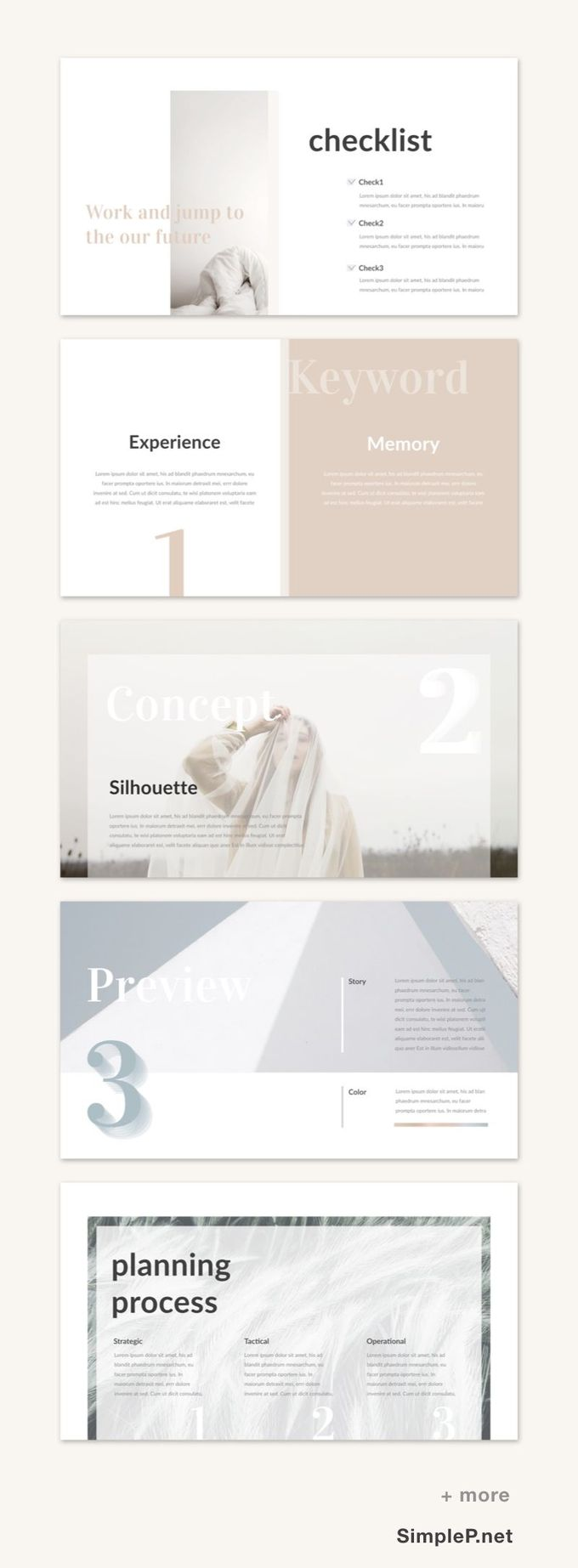 清洁主题演讲PPT模板#simple #minimal #minimalist #presentation #template #simplep #planning #process #keyword #slide #checklist #key #keynote #pale
