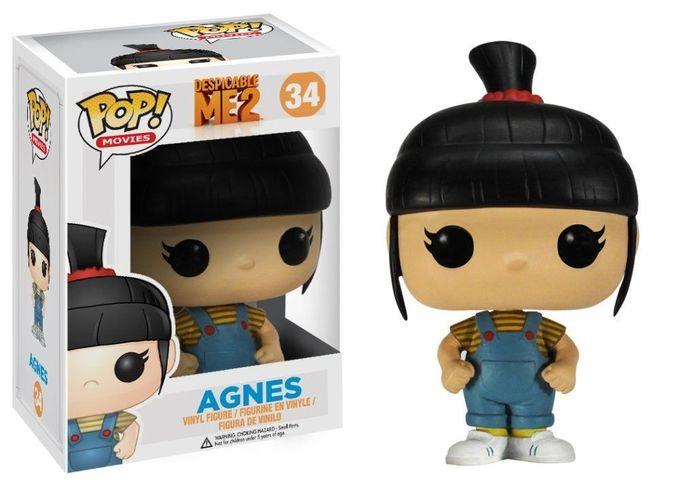 Amazon.com: Funko POP Movies Despicable Me: Agnes Vinyl Figure: Toys & Games