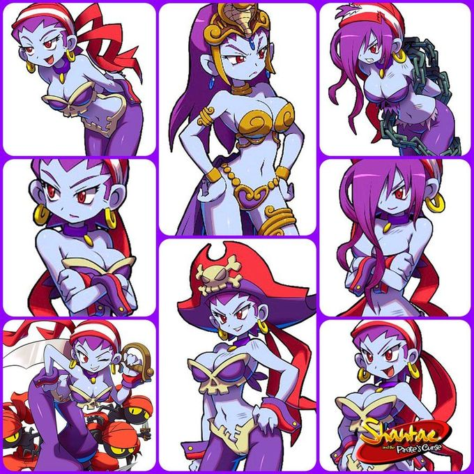 Shantae Forever: theorderofnightmare.deviantart… Sky Forever:theorderofnightmare.deviantart… Risky Boots is certainly a sight for sore eyes...but my eyes aren't sore, so this is...