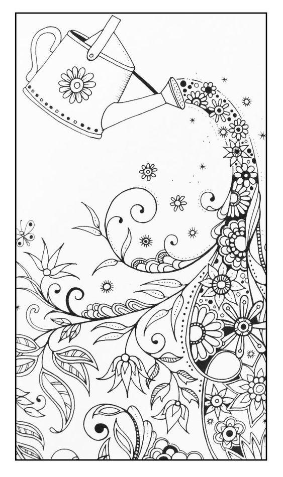 为成人和儿童提供精选的100种免费着色页,您可以下载并转换成您自己的小艺术品