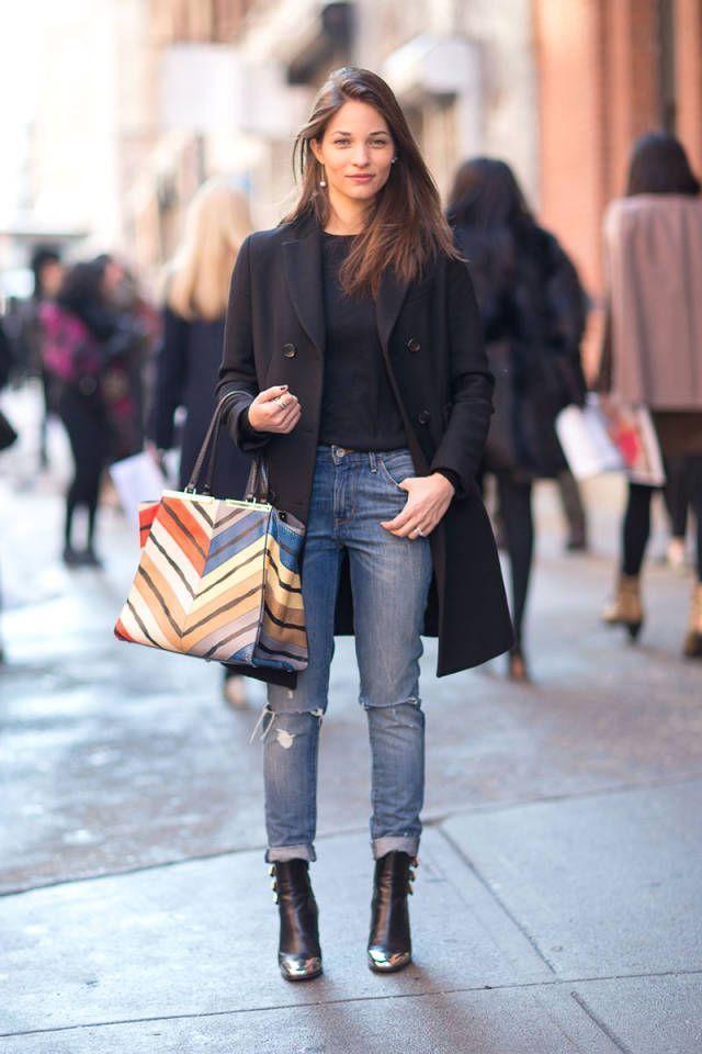 所有最好的外观都直接来自纽约时装周的街头。