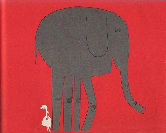 Abner Graboff elephant 1966