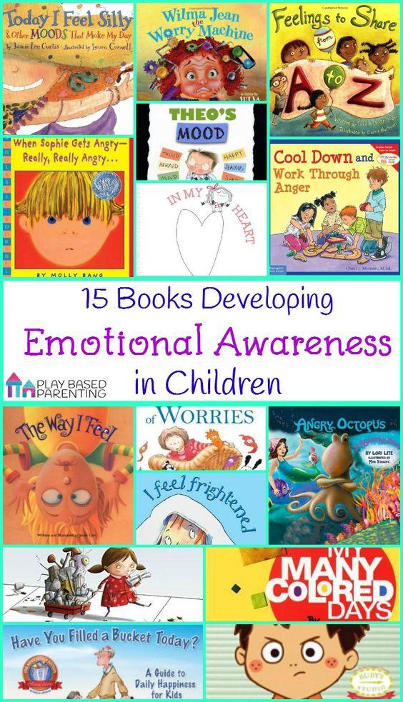 图书发展儿童情绪意识 - 通过探索这些书中的一系列感受和情绪,培养孩子的情绪智力。