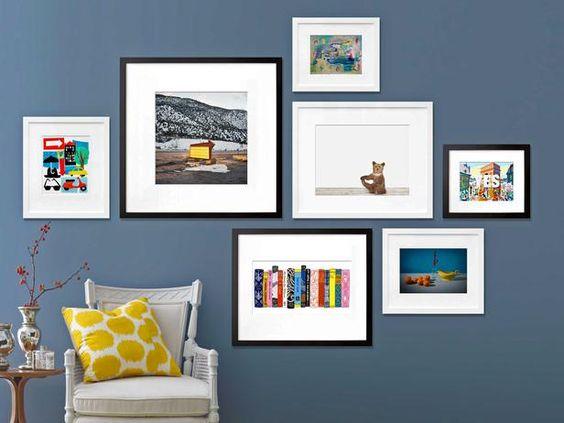 从三位顶尖设计师那里获取关于如何在HGTV.com上创建专业美术馆墙的技巧