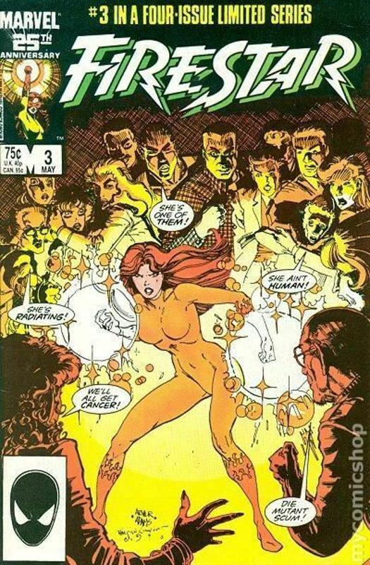 Marvel Comics - Firestar, Vol.1, No.3