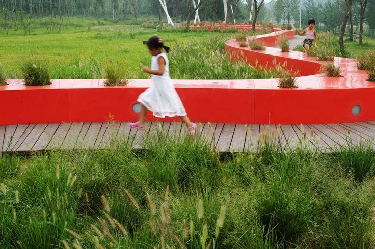 红丝带公园/ Turenscape