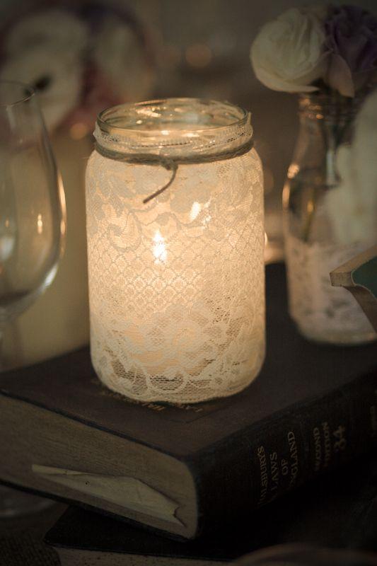 梅森罐子灯
