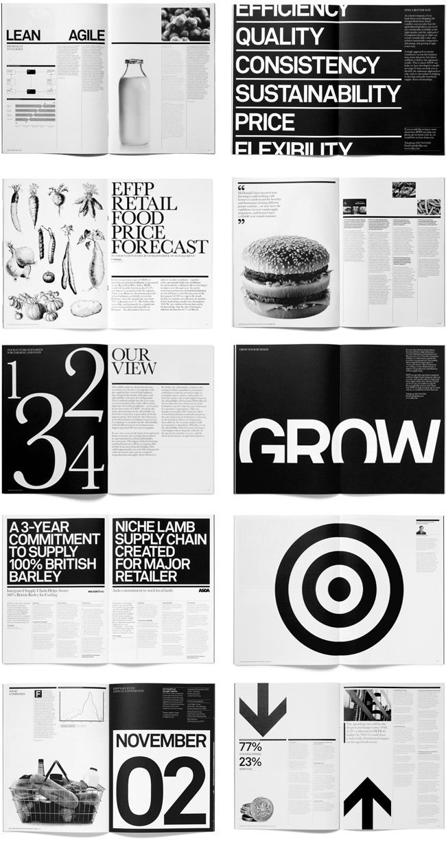 White typo / From Paul Felton - Branding, Illustration, Layout