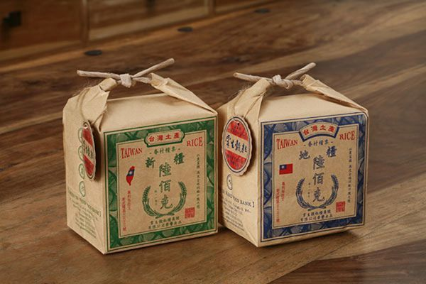Chinese rice packaging design | i need to learn how to wrap like this!