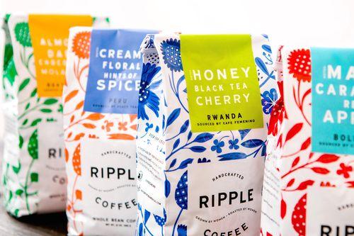 ripple coffee branding