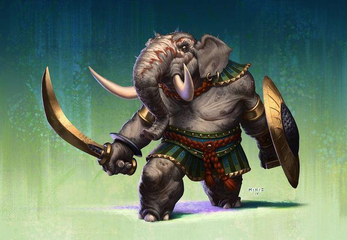 Indian Elephant by ATArts.deviantart.com on @DeviantArt                                                                                                                                                                                 More