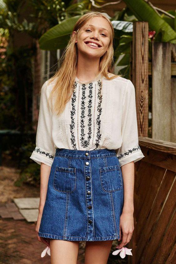 Urban Outfitters这个夏末系列的精选白色单品。