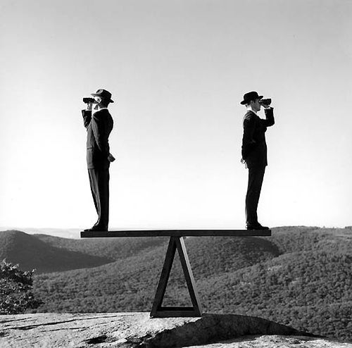 Rodney SMITH :: Two Men on See-Saw No. 2