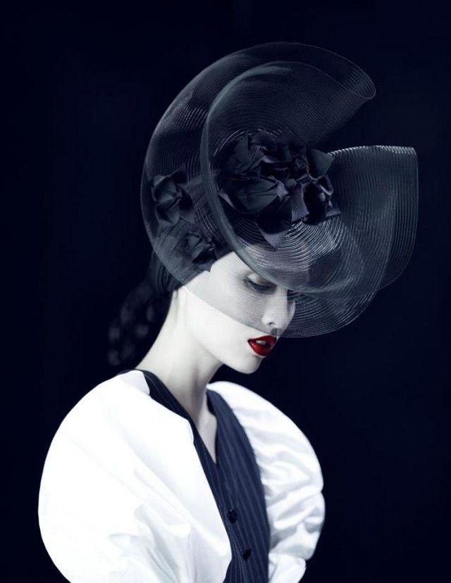 Photographer: Xi Sinsong  Stylist: Lisa Jarvis  Model: Jessica Mau  Hair: Singo Shibata  Makeup: Yuki Hayashi