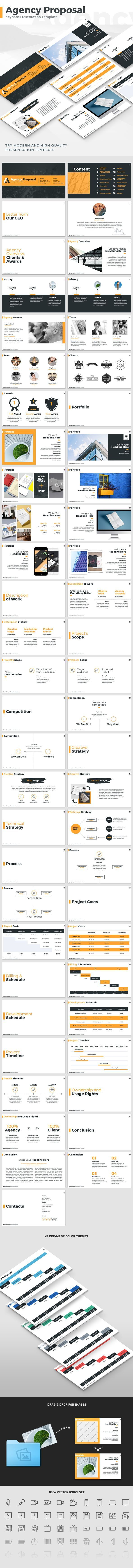 代理商提案主题演讲模板#keynote #presentation template•下载➝https://graphicriver.net/item/agency-proposal-keynote-presentation-template/18393177?ref=pxcr