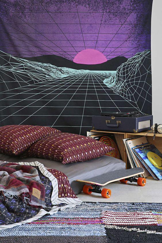 今天在Urban Outfitters购买霓虹景观挂毯。在线或店内发现更多选择。购买您喜爱的品牌并注册UO奖励即可享受下次购物的10%折扣!