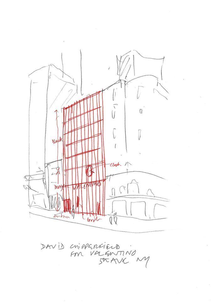 David Chipperfield为#VALENTINO纽约第五大道