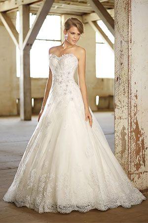通过了解不同的长裙剪影开始婚纱礼服的购物过程,并了解他们最适合哪种体型。