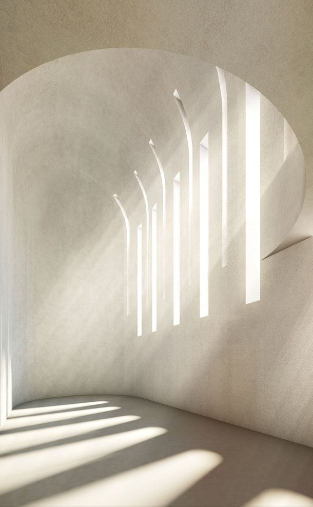 Exquisite light shines through a synagogue, mosque and church all in one building.  Berlin