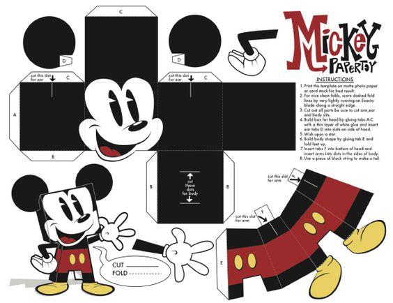 理想的儿童,这两个米奇papertoys将很容易组装立即享受......请注意,这也是大龄儿童papertoy,这个标志性的角色从年轻时陪伴...米奇有他的第一个阅读morePapertoys米老鼠