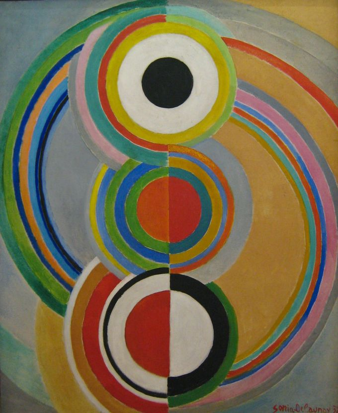Another Sonia Delaunay - awesome