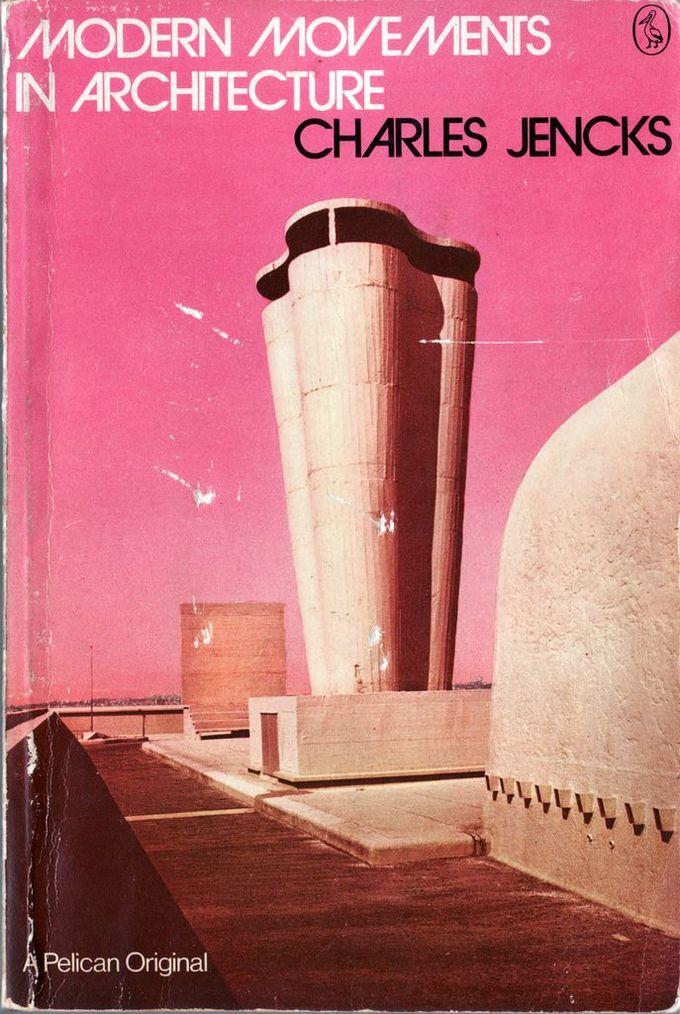建筑的现代运动:复古书籍封面