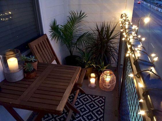 美丽舒适的公寓阳台装饰理念(77)