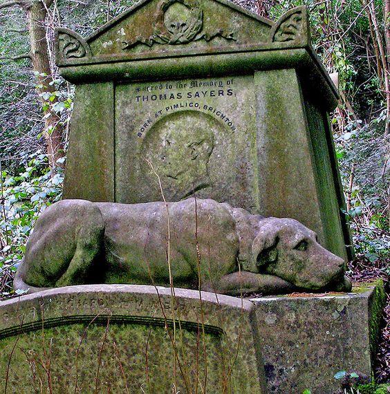 Highgate公墓,伦敦,英国 -  2006年2月