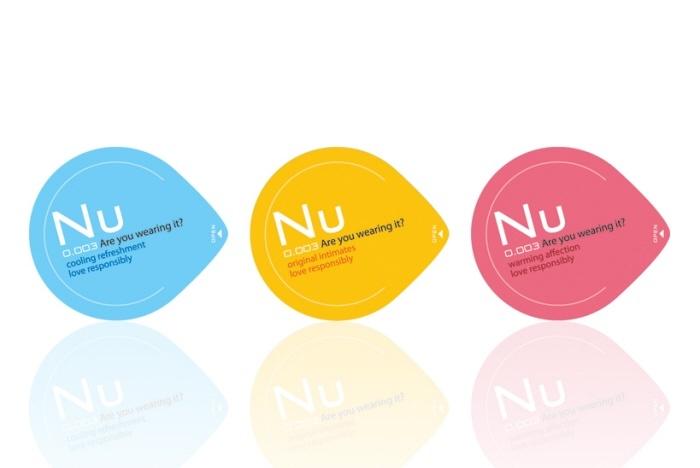 Condoms (individual) packaging Design