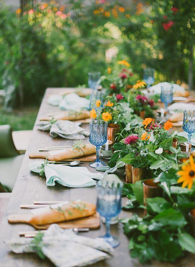 后院农场到餐桌晚宴 - 灵感来自于此