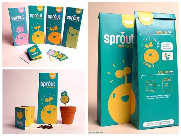 seed package design
