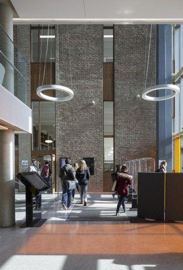 University of Kent Templeman Library Extension & Refurbishment - Penoyre & Prasad Architects, London