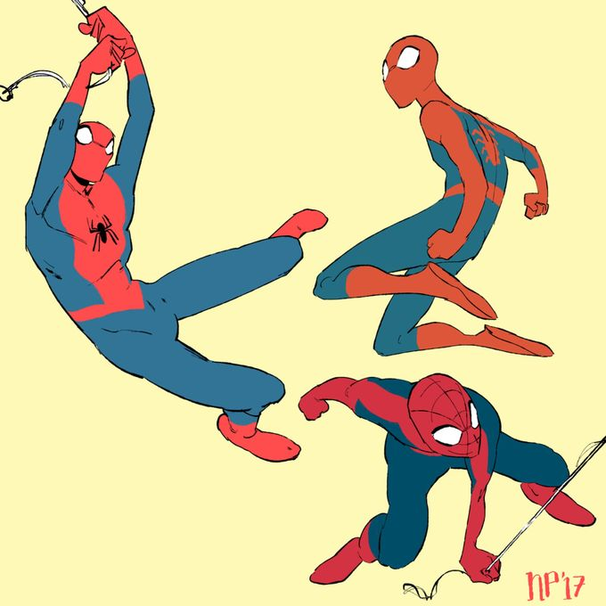 Spidermans by foxcrusade on @DeviantArt