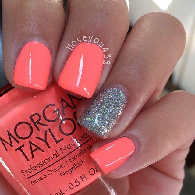 夏天喜欢这种颜色!美甲设计,美甲,美甲沙龙,欧文,纽波特海滩
