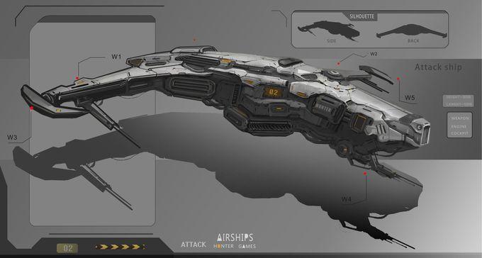 ArtStation - ship-0, Finger N
