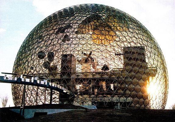 R. Buckminster Fuller, US Pavillion für die Weltausstellung in Montreal, 1967, Courtesy, The Estate of R. Buckminster Fuller.