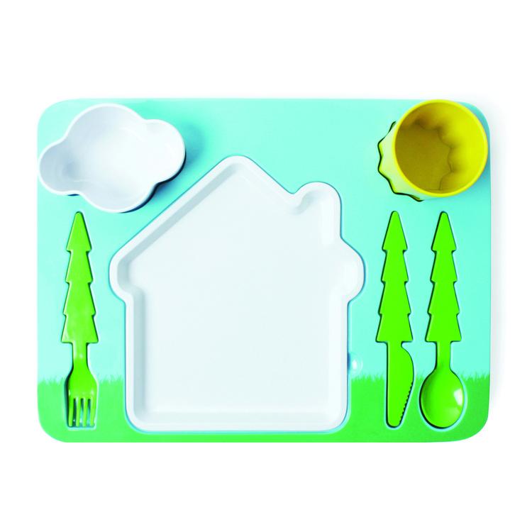 景观晚餐套装儿童