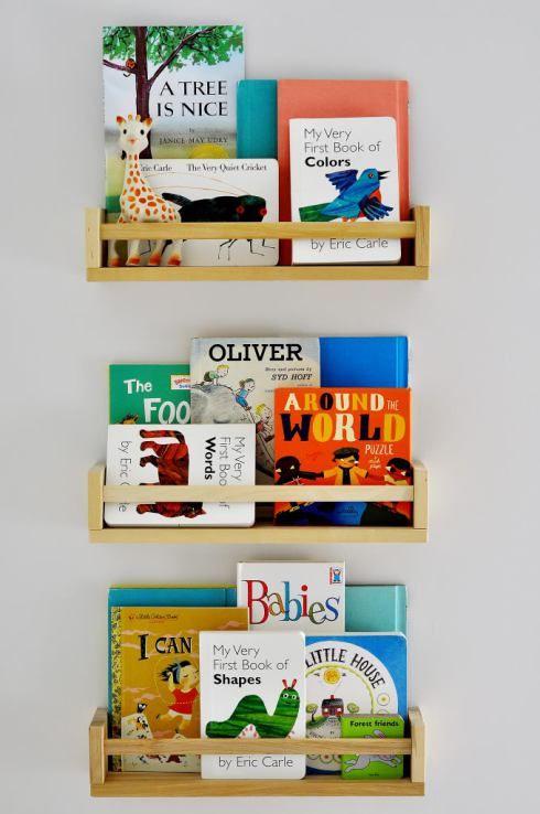 BEKVÄM香料架作为儿童书架|住在宜家俱乐部